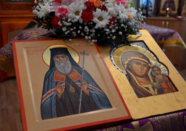 В Иркутске установлен бюст святителя Сафрония