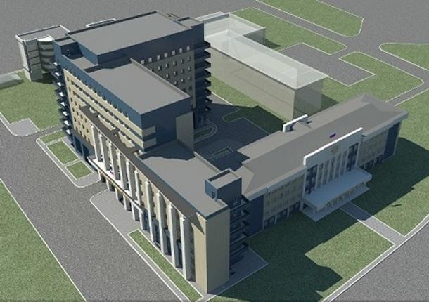 В Иркутске возведут новое здание областного суда